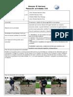 Planeación Actividades CAS 2021