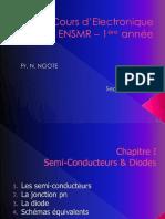 000-Cours Electronique 1°A ENSMR 2019-2020