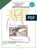 GERENCIA Y GESTION  - PRACTICTA - ATENCION INMEDIATA R.N. 2018