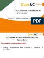 1 1 7 Procedimiento Para Seleccion y Evaluacion Proveedores