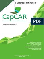 CapCAR. Curso de Extensão a Distância. Linha do tempo do CAR