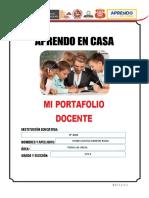 Portafolio Docente - Aprendo en Casa LISTO (1)