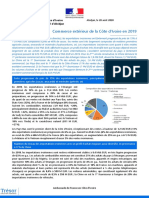 20-08 CÔTE D'IVOIRE commerce extérieur 2019 - Trademap données directes - Site