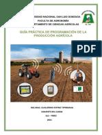 GUÍA PRÁCTICA DE PROGRAMACION DE LA PRODUCCIÓN AGRICOLA 2020 II