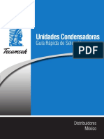 Tecumseh Quick Select Condensing Units Tr 102 Mex