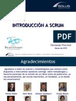 1 - Introduccion a Scrum