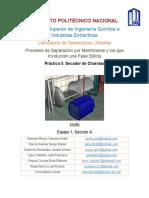 Lab Secado - Práctica 5 - Reporte - SECADOR DE CHAROLAS