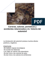 11 Carreras, revistas, salones, accidentes
