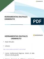 HERRAMIENTAS DIGITALES UNIMINUTO