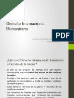 Relación entre Derecho Internacional Humanitario y Derecho Internacional de los DDHH