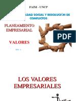 Valores-Planeamiento Empresarial 3
