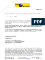 scrisori comisia juridica