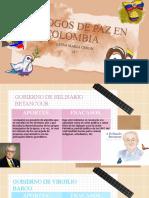 DIALOGOS DE PAZ EN COLOMBIA