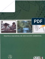 Política de Educación Ambiental-MARN