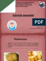 Ictericia neonatal seminario