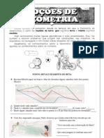 GEOMETRIA RETA/ SEMIRRETA