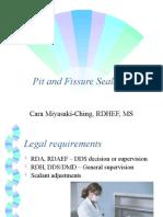 Pit & Fissure Sealants