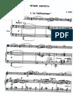 4 visages, darius milhaud, viola y piano