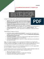 Modulo 1 - I trasporti e le spedizioni internazionali_la logistica per l'internazionalizzazione