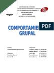 Informe Comportamiento Grupal