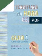 Guia 01 Literatura Hora Certa PNLD