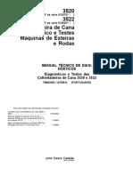 John Deere- Maual Técnico de Diagnósticos 3520-3522 Ano 2014