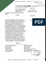 Players' Antitrust Lawsuit Against the NFL