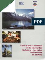 Valoracion Economica de La Biodiversidad(1)