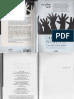 Wolff - Filosofia Politica. Una Introducción (p. 17-21)