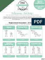 Programme Lotus Full Body Fitness1