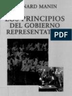 Manin - Los Principios Del Gobierno Representativo (Cap.6. Metamorfosis Del Gobierno Representativo)