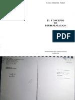 Pitkin - El Concepto de Representacion (p. 233-283)