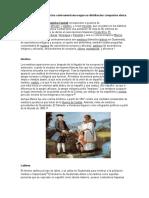 Clasificacion de La Poblacion Centroamericana Segun Su Distribucion Composion Etnica y Linguistica