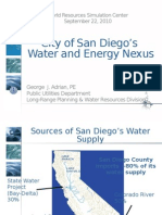 San Diego Water Energy Nexus Shortened Version