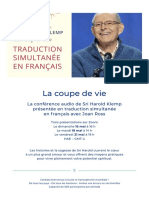 EN FRANÇAISConférence audiode Sri Harold Klemp16, 18 et 21 mai – Eckankar Québec