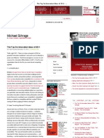 The Top Six Innovation Ideas of 2011 - Michael Schrage - Harvard Business Review