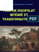 Pour un Discipolat Intégré Et Transformationnel