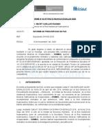 INFORME prescripcion COMECI. 2020
