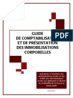 Guide de Comptabilisation Et de Presentation Des Immobilisations Corporelles