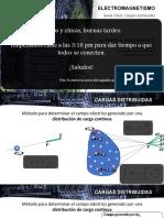 D251_4. Electromagnetismo - Cargas distribuidas