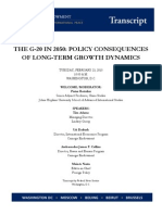 The World Order Carnegie Endowment - Transcript - THE G-20 IN 2050