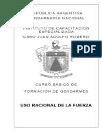 USO RACIONAL DE LA FUERZA