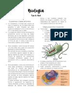 Biologia resumo