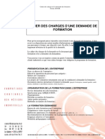 Cahier charges Modele3