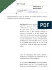 PETIÇÃO - DANOS MATERIAIS E MORAIS 09.03.11