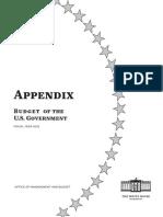 Budget Appendix FY 2022