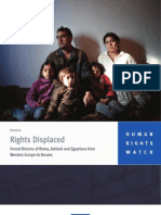 HRW - Rights Displaced