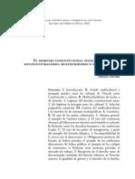 El Derecho Constitucional Suizo Entre Multiculturalismo, Multijuridismo e Integración - Adriano Previtali