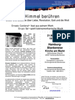 Ernesto Cardenal u. Grupo Sal in Hamburg, 21.03.11