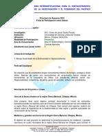 Programa DELFÍN UNICACH Motozintla Carlos Ocaña